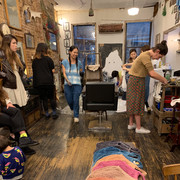 The Earth Day, Natural Indigo Dyeing Event at Kuniya Hair Salon