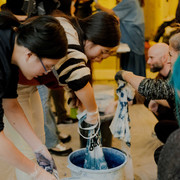 Indigo Dyeing Workshop at Bumble Hive NYC