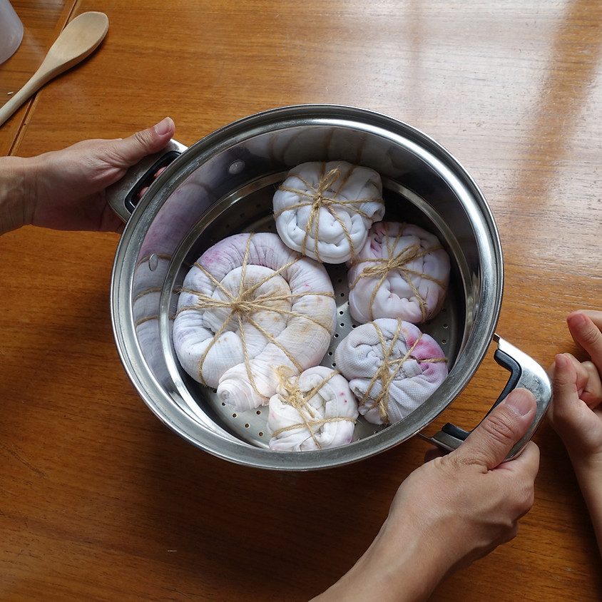 Bundle Dyeing Workshop in Japanese