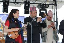 Nepali New Year, Washington DC, Tara Linhardt, Ranjan Budhathoki, Nepal, music, authentic, horns