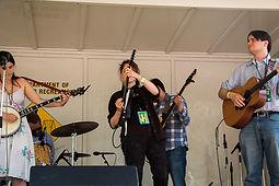 Kingman Island Festival, Tara Linhardt, Electric, mandolin, Lissy Rosemont