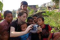 Mountain Music Project, village, Tara Linhardt, kids, Nepal