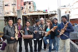 Tara Linhardt, arboj, Nepali musicians, Kathmandu, Gandharba, GCAO, mountain music, project, authentic