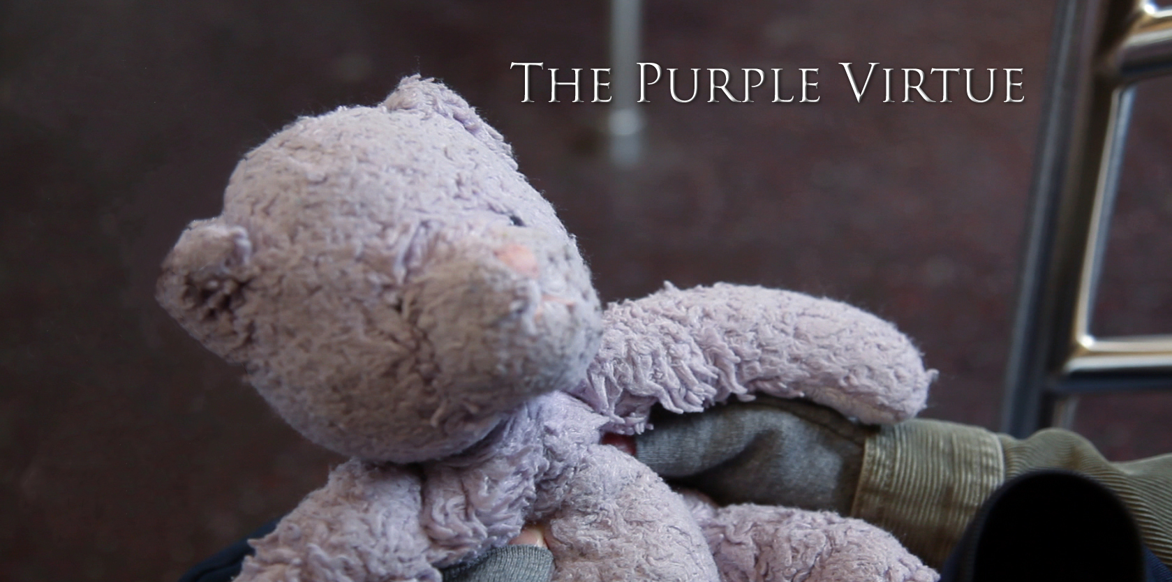 Purple Virtue Poster