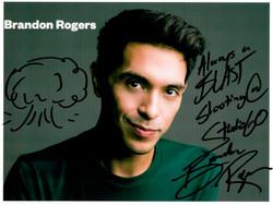 Brandon Rogers Autograph