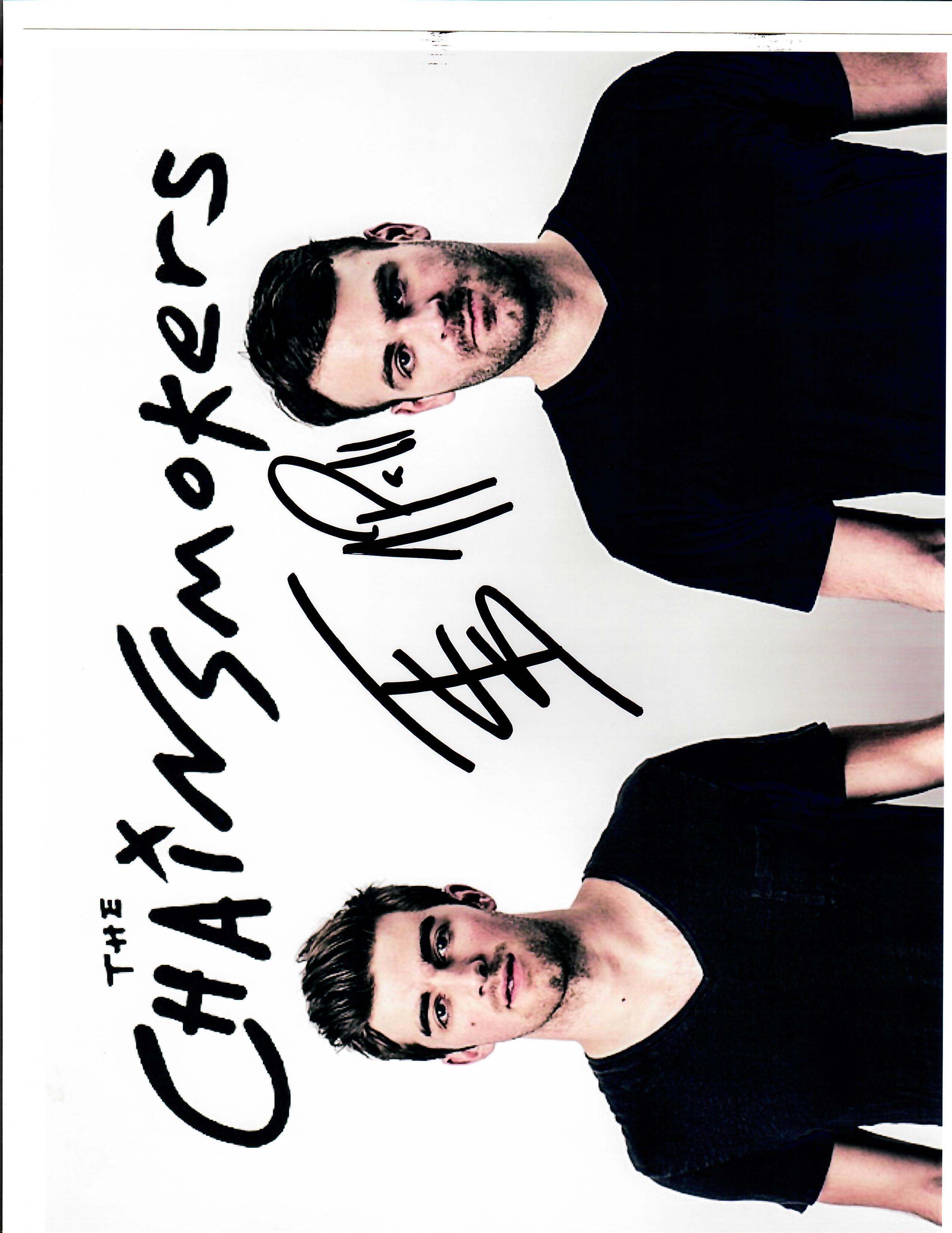 The Chainsmokers Autograph
