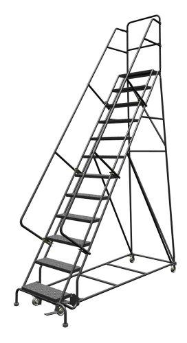 Rolling Metal Ladder