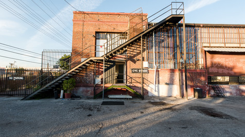 Exterior CYC Stage / Rooftop Stairs