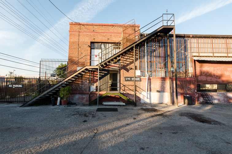 Studios 60 Rooftop stair access