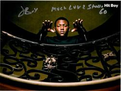 Hit Boy Autograph