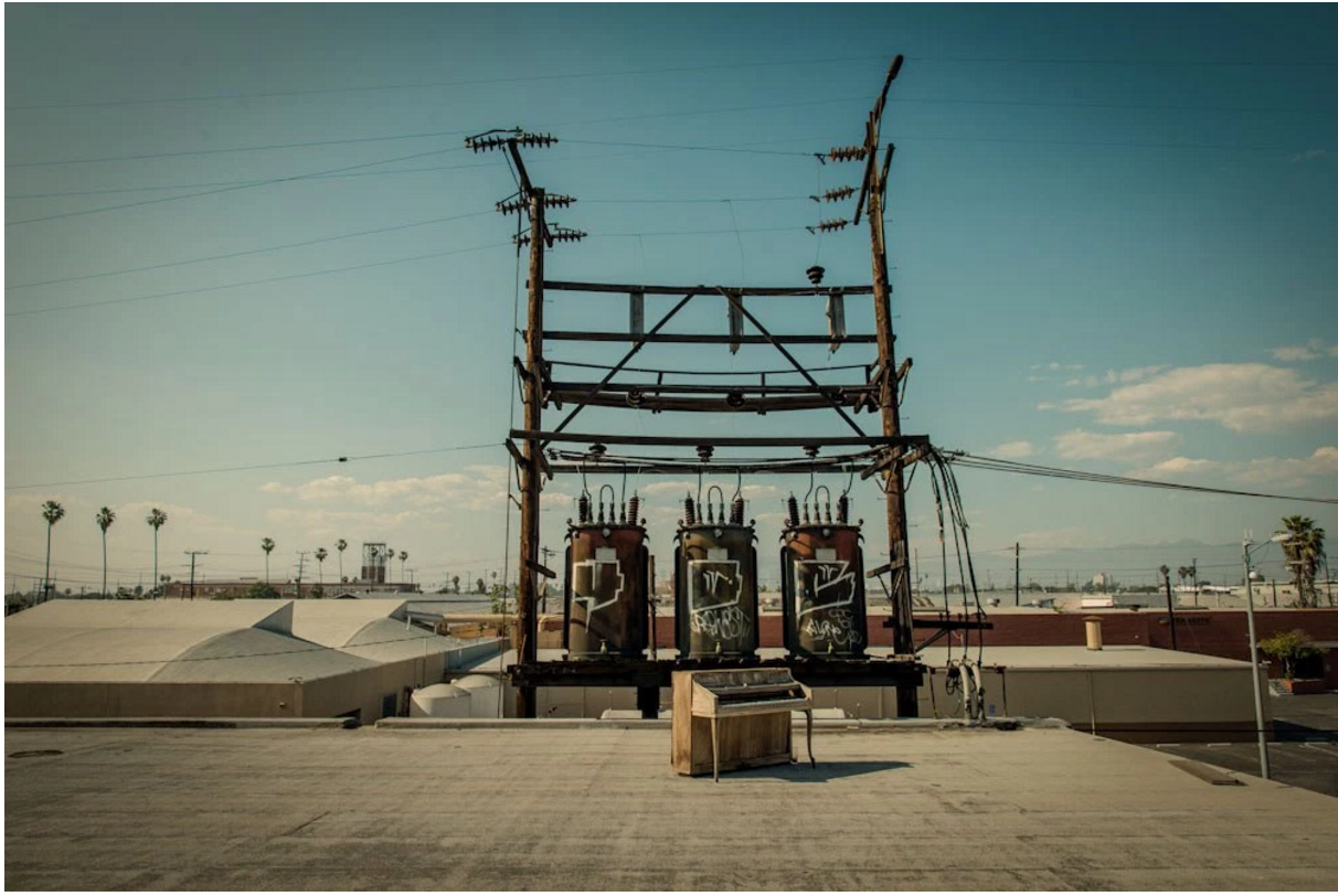Rooftop Electric Transformers