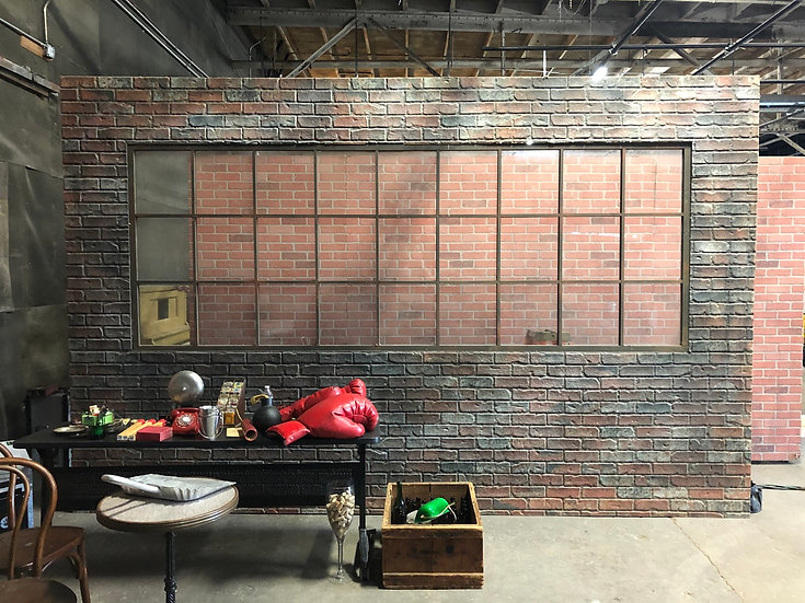 Brick Flat With Industrial Window Specialty Wall