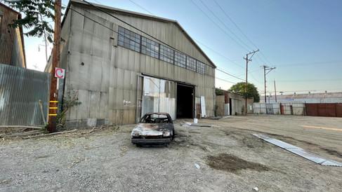 Mega Studios Parking Lot