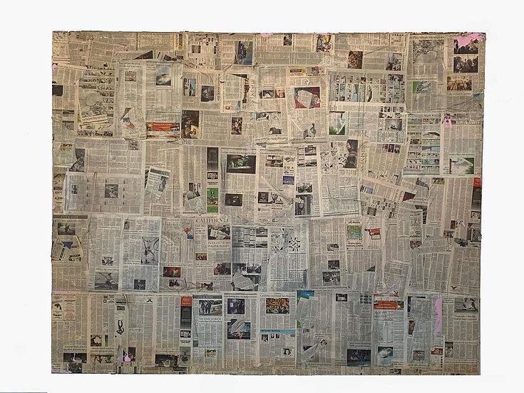 8x10 Newspaper Flat