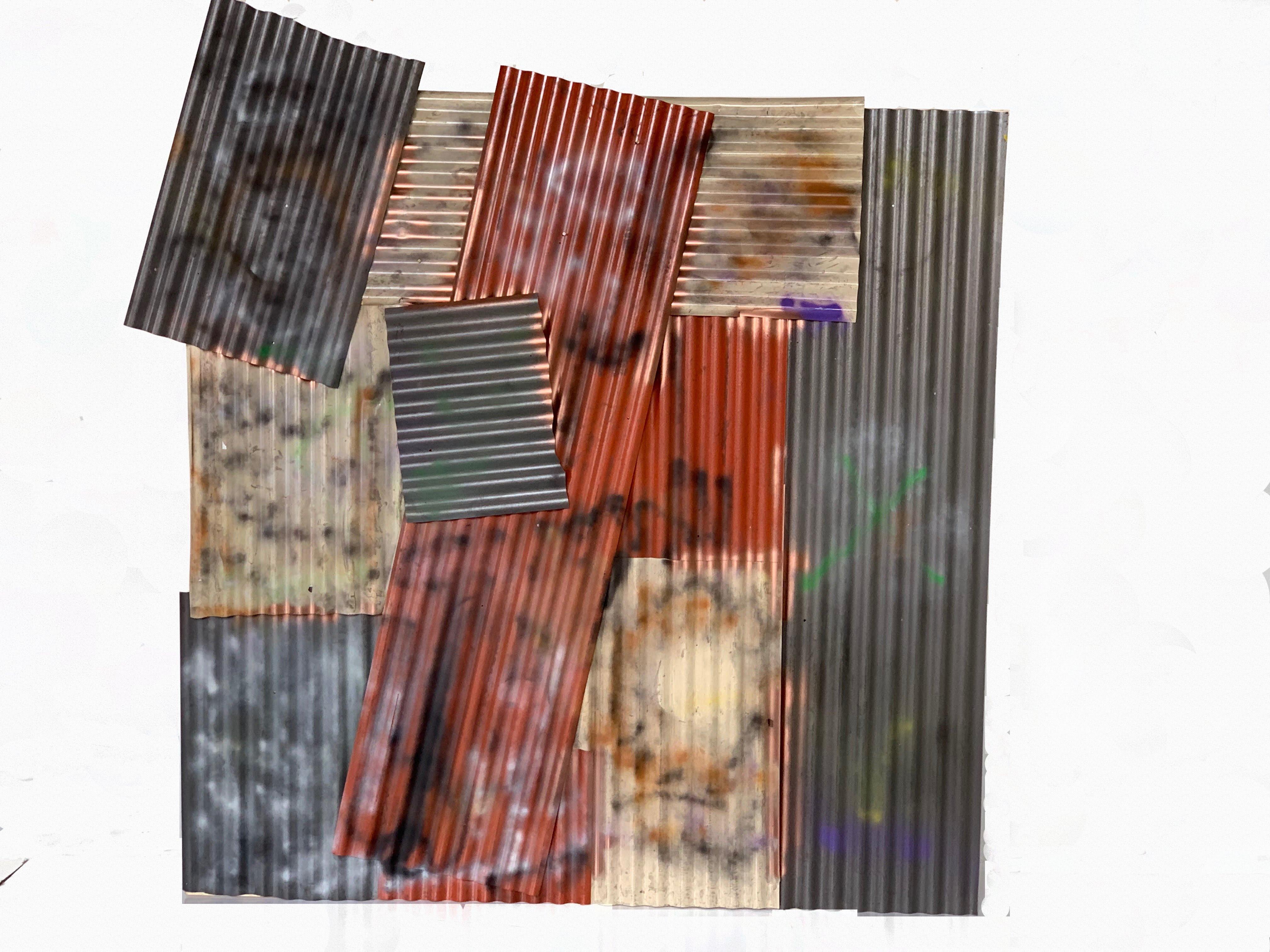 8X8 Flat Corrugated Multicolor
