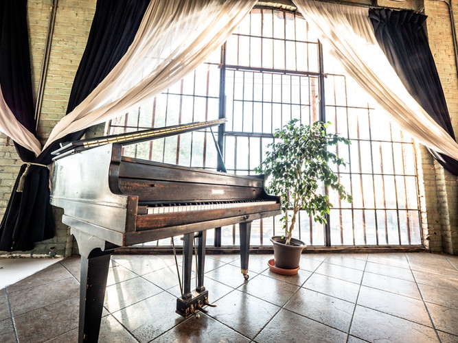 LOFT Baby Grand Piano