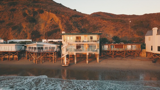 Malibu Breachfront House Location