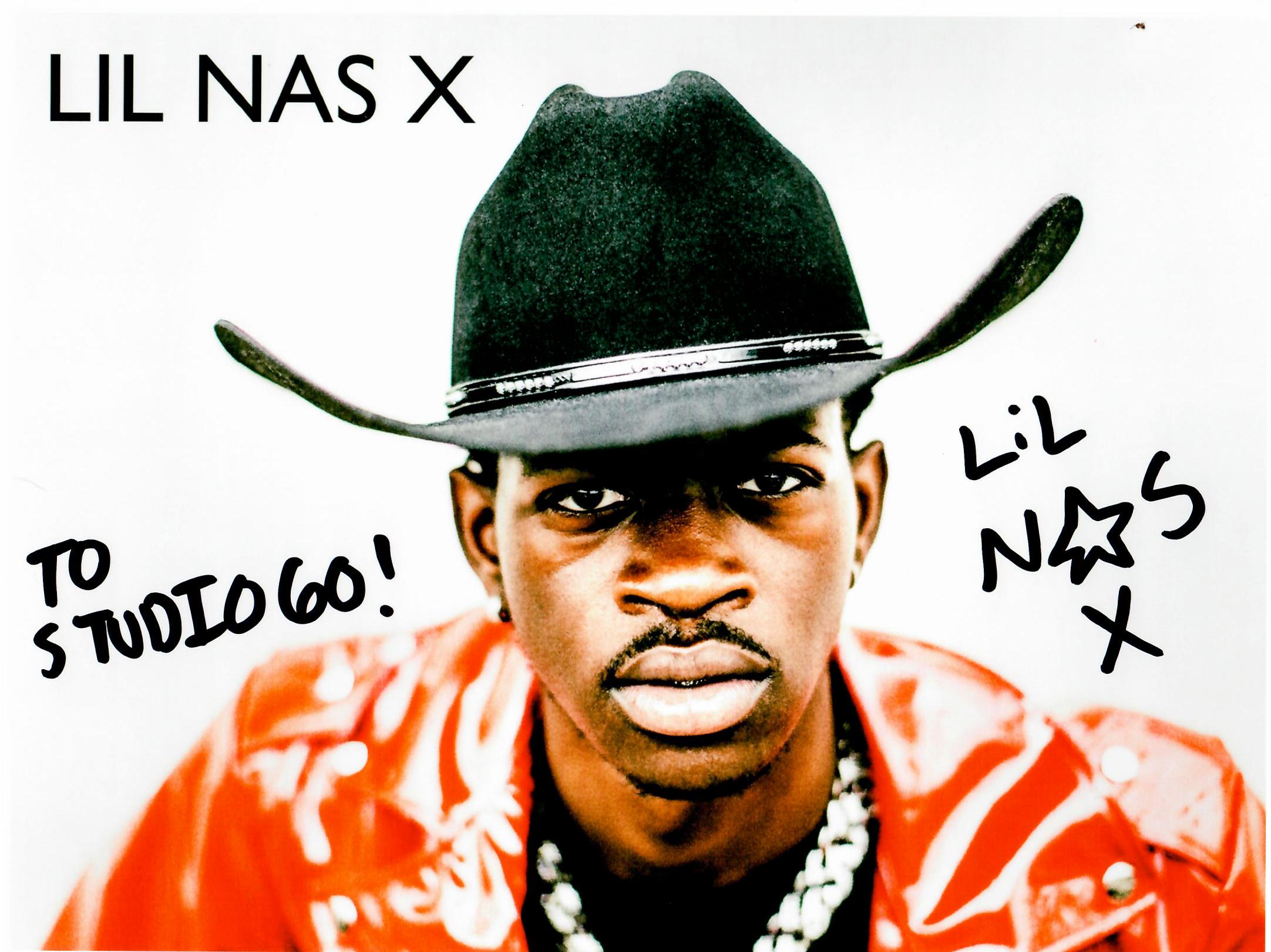 Lil Nas X Autograph