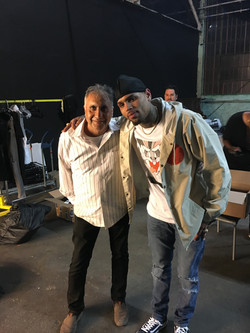 Chris Brown with Joseph
