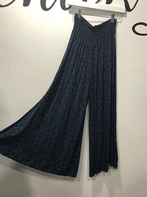 PALAZZO PANTS BLUE