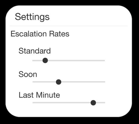Simplified Settings