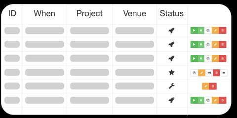 Simplified Dashboard