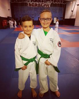 #karate #teamwork #bestfriends #wadokai