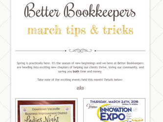 March Tips & Tricks