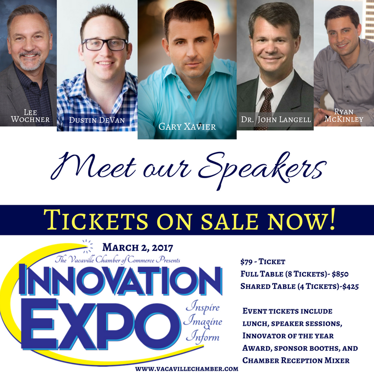 Vacaville Chamber of Commerce Innovation Expo