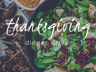 Dinner Drive // Helping Families in Need