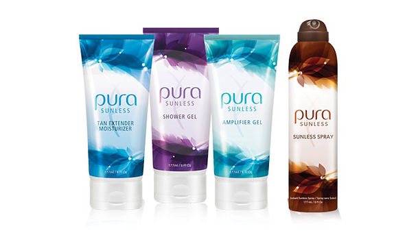 PUR Sunless Spa products