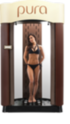 PURA Sunless Spa Spray Tanning Booth