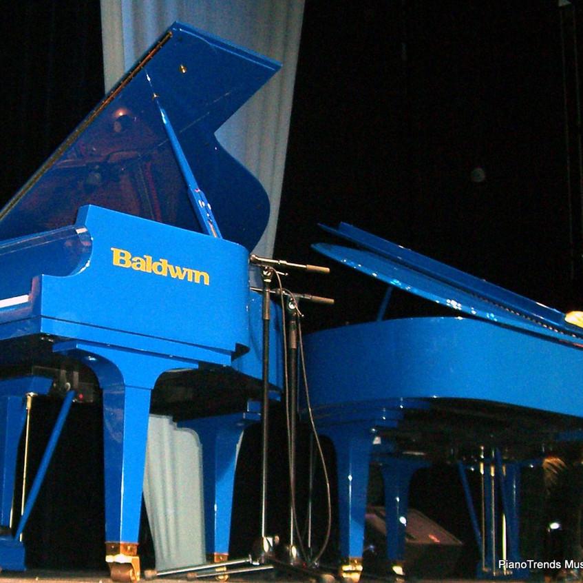 Famous Blue Baldwin Grands