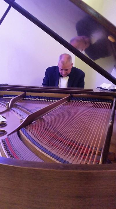 Greg Mackintosh at CHILL for Piano Trends Music & Band