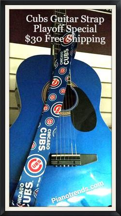 Cubs Guitar STrap