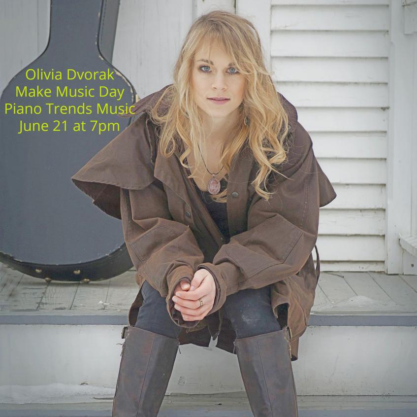 Olivia make music day fb cover photo