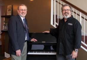 Casio To Sponsor Raue Center Cafe Programming with Piano Trends