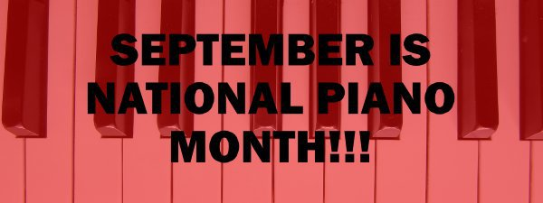 national piano month red
