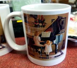 Sisters at the Piano Coffee Mug