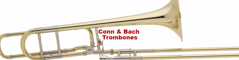 Conn, Bach Trombones