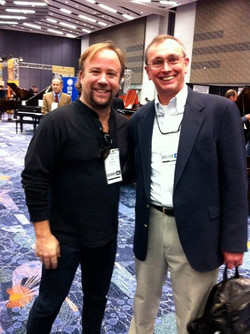 Just a couple of Bear Backers hanging out at NAMM