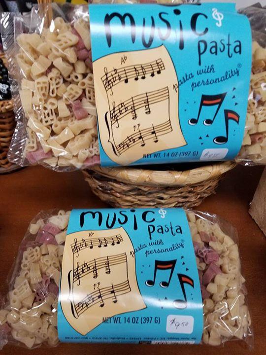 Music Pasta SALE $7.99 each