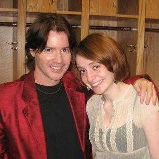 Arthur Hanon with Jenny