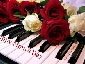 Happy Mom's Day from Piano Trends Music & Band Company
