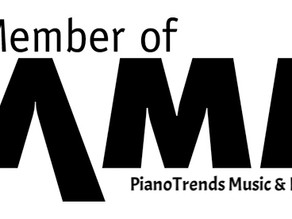 Piano Trends Owner Tim Paul at NAMM Idea Center