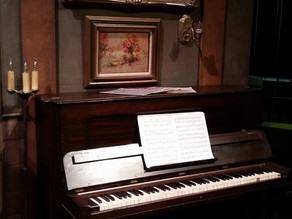 1898 Steinway - Working Prop in Steve Martin Play at Raue Center