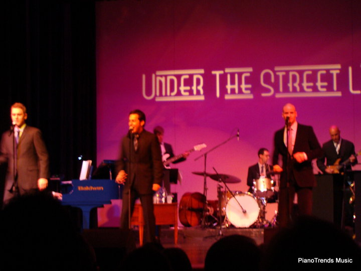 Blue in concert with Jersey Boys