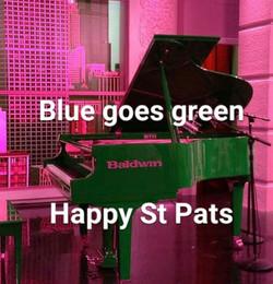 St. Patt's Day Blue - A little Irish