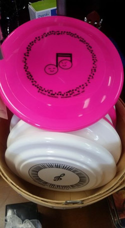 Music Frisbees