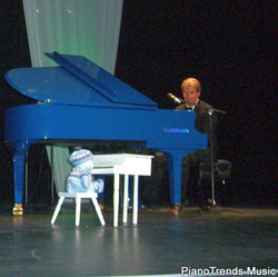 Danny Wright on Blue at the Raue Center during concert with Emily Bear Nov 6th 2010